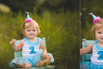 first, birthday, first birthday, one, number one, blue, baby, girl, child, chair, hat, happy, green, park, deer haven, delaware, ohio, delaware ohio, delaware ohio photographer, celebration, celebrate, party